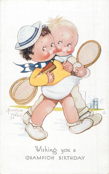WISHING YOU A CHAMPION BIRTHDAY  tennis