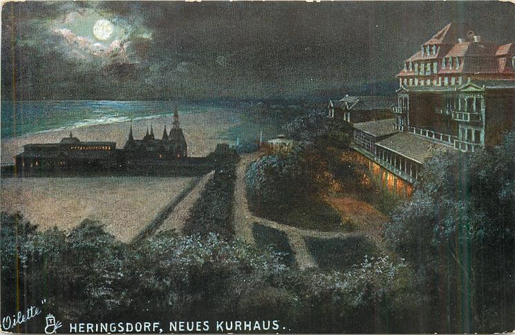 NEUES KURHAUS night view