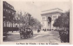 LA PLACE DE L'ETOILE - L'ARC DE TRIOMPHE