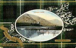 KILCHURN CASTLE  CAMPBELL tartan