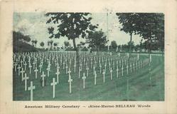 (AISNE-MARNE) BELLEAU WOODS crosses face right