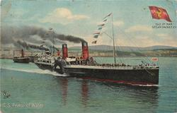 S.S. PRINCE OF WALES  steams front right