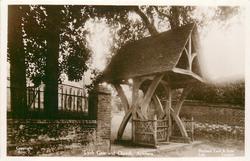 LYCH GATE AND CHURCH