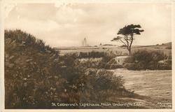 ST.CATHERINE'S LIGHTOUSE, NITON UNDERCLIFFE, I.O.W.