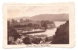 BOWNESS BAY FROM CHURCH TOWER