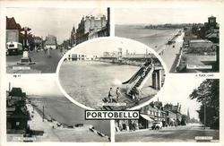 5 insets HIGH STREET/JOPPA PROMENADE/THE SWIMMING POOL/ THE PROMENADE/HIGH STREET