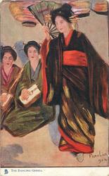 THE DANCING GEISHA