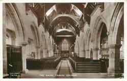 INTERIOR OF TARVIN CHURCH