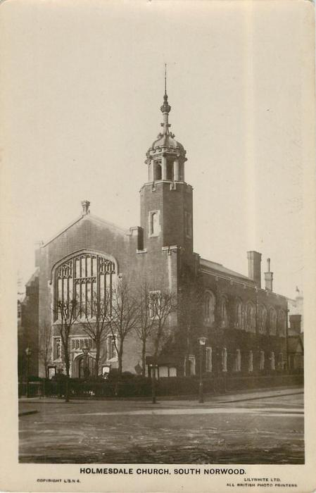 HOLMESDALE CHURCH