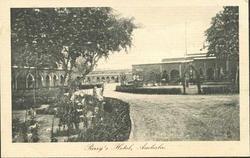 PARRY'S HOTEL garden  left