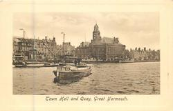 TOWN HALL AND QUAY