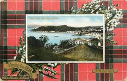 OBAN AND BAY FROM THE SOUTH  FRASER tartan