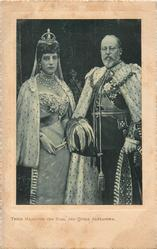 THEIR MAJESTIES, THE, KING, AND QUEEN ALEXANDRA
