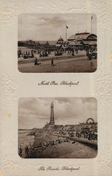 NORTH PIER, BLACKPOOL//THE PARADE, BLACKPOOL