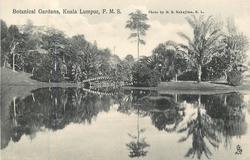 BOTANICAL GARDENS, KUALA LUMPUR, F.M.S.