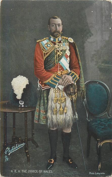 H.R.H. PRINCE OF WALES