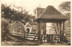 MINSTEAD CHURCH, NEW FOREST