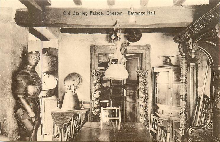 OLD STANLEY PALACE, CHESTER, ENTRANCE HALL