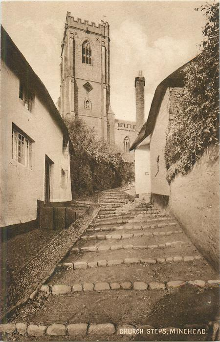 CHURCH STEPS, MINEHEAD