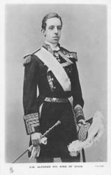 H.M. ALPHONSO XIII, KING OF SPAIN