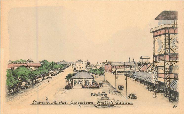 STABROEK MARKET, GEORGETOWN