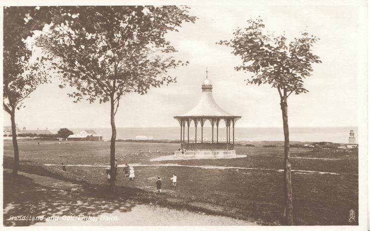 BANDSTAND  AND GOLF LINKS