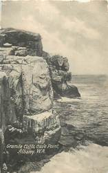 GRANITE CLIFFS, CAVE POINT