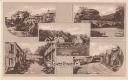 5 insets LOWWOOD, LOW BRIDGE, THE CHURCH AND VICARAGE, FERRY STREET, WEST VIEW & POST OFFICE