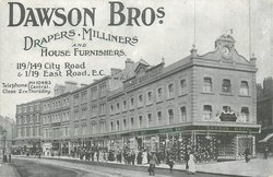 DAWSON BROS. DRAPERS, MILLINERS AND HOUSE FURNISHERS