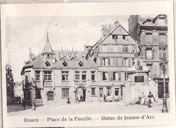 PLACE DE LA PUCELLE. -- STATUE DE JEANNE D'ARC