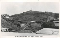 THE BELFRAY BRIDGE AND FORT MORBUT, STEAMER POINT