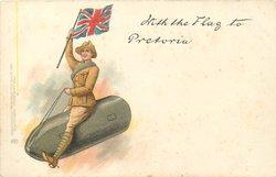 WITH THE FLAG TO PRETORIA