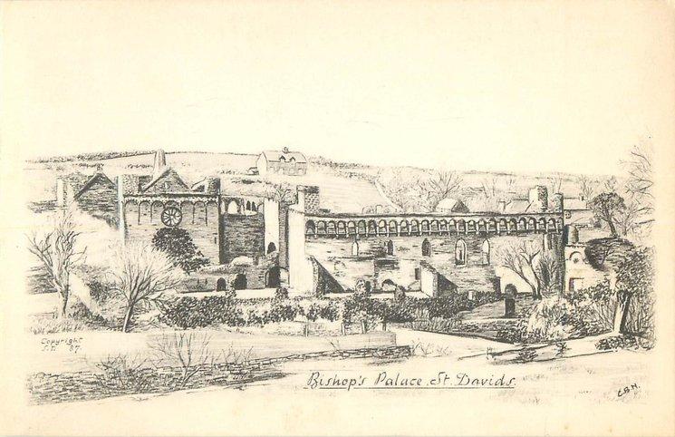 BISHOP'S PALACE, ST DAVIDS
