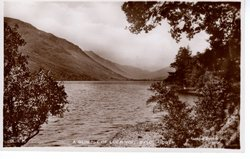 A GLIMPSE OF LOCH VOIL
