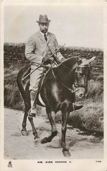 H.M. KING GEORGE V.