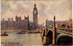 HOUSES OF PARLIAMENT & WESTMINSTER BRIDGE