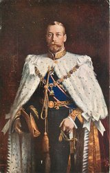 H.M. KING GEORGE V. EMPEROR OF INDIA