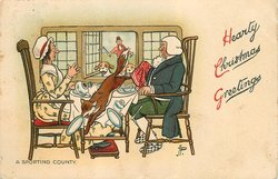 HEARTY CHRISTMAS GREETINGS, A SPORTING COUNTY