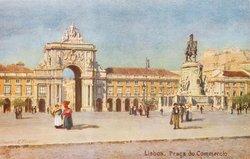 LISBOA (PORTUGAL)   PRACA DO COMMERCIO