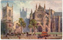 LONDON. WESTMINSTER ABBEY & ST. MARGARET'S CHURCH